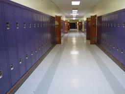 School Corridor Lockers Illinois